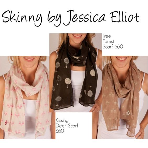 Skinny by Jessica Elliot Scarves http://www.meinto.com/passion-for-fashion/2012/05/14/new-items-from-venue-boutique