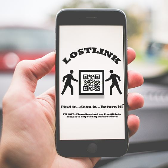 "LostLink Wallpapers can give you the lifeline that you need to get your phone back if it ever becomes lost. The best thing is the finder can ""Find it...Scan it...Return it!""™ without even having to get past your pincode.  #LostLink #Wallpaper #Found #Lost #Help"