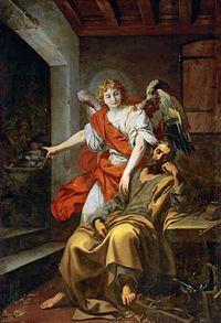El sueño de José es un cuadro del pintor italiano Daniele Crespi, realizado en la década de 1620. Se encuentra ubicado en el Museo de Historia del Arte de Viena. En él se representa el episodio bíblico en el que el ángel avisa a José sobre las intenciones de Herodes de asesinar a Jesús según se relata en el Evangelio de Mateo.1 En la escena principal, José duerme con los útiles de profesión a sus pies mientras el ángel le da las instrucciones de huir a Egipto, a la vez que en un plano muy secun