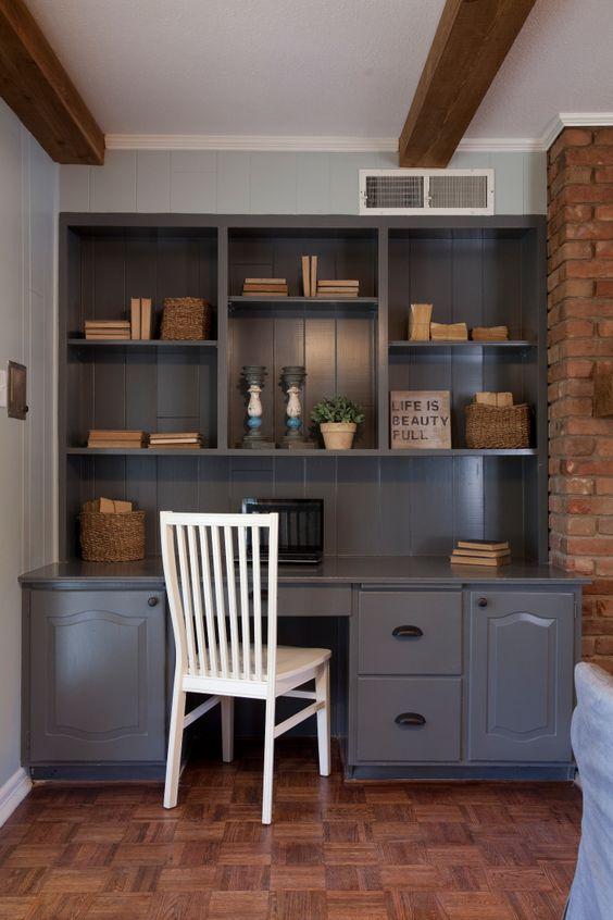 White Floating Shelves Living Room Joanna Gaines