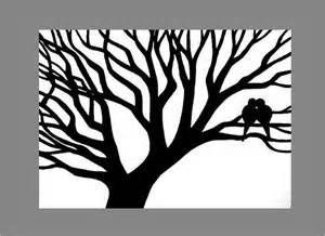 black and white trees paintings - Bing Images