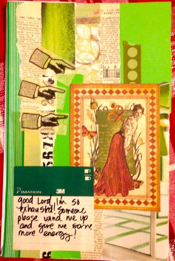 art journal page by Rachel Mims rachelmims.blogspot.com