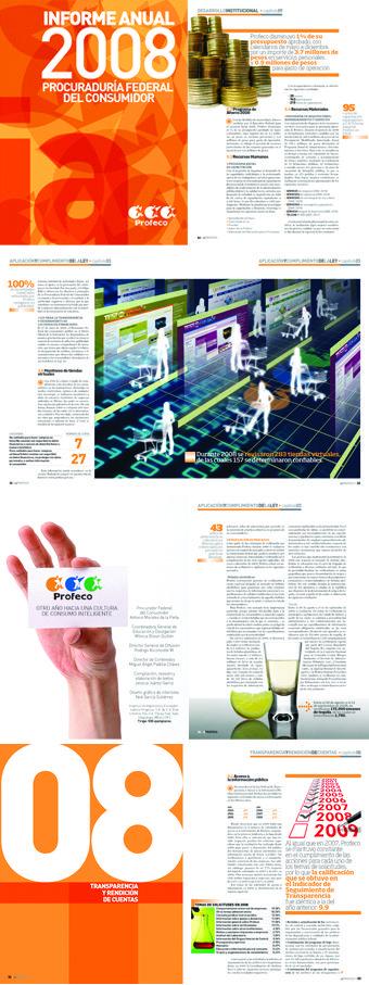 Informe de actividades 2008 de la PROFECO