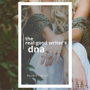 If you want to get to Real Good Writing, you first have to know who you are, what you're writing, and why you're writing it. Get started NOW with your FREE 52+page book and workbook in the Real·Good·Writer's Club! -RACHEL GIESEL