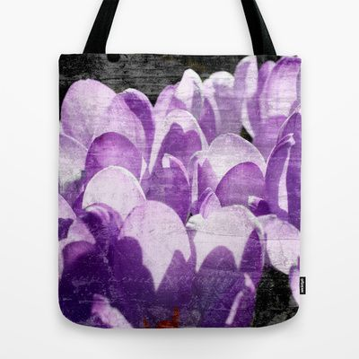 Petals Tote Bag by Christine baessler - $22.00