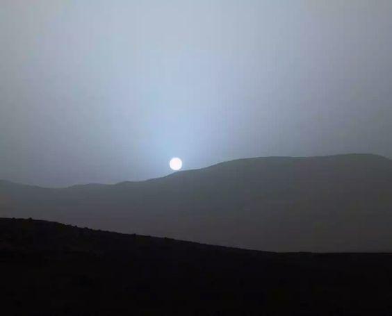 Atardecer desde Marte, NASA 2015