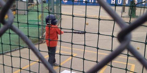 Batter Up Batting Range #NYC #Attractions #FamilyFun