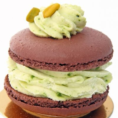 Chocolate Pistachio Macaroon Recipe