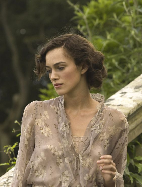"the-garden-of-delights: "" Keira Knightley as Cecilia Tallis in Atonement (2007). "":"