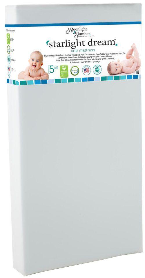Moonlight Baby Starlight Dream Crib Mattress Crib Mattress Baby Registry Must Haves Smart Solutions