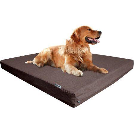 Orthopedic Waterproof Pet Dog Bed X Large Brown Walmart Com Waterproof Dog Bed Washable Dog Bed Memory Foam Pet Bed