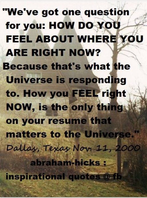 How do you feel about where you are right now Inspiration - how do you right a resume