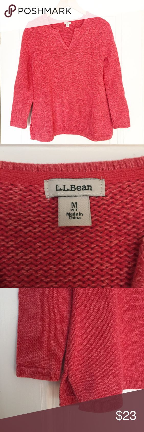 L.L. Bean Tunic Sweater Excellent pre-loved condition. No rips or stains. First picture filtered. Please no trades. L.L. Bean Sweaters
