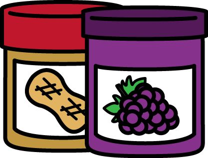 FREE peanut butter and jelly clip art by MyCuteGraphics ...