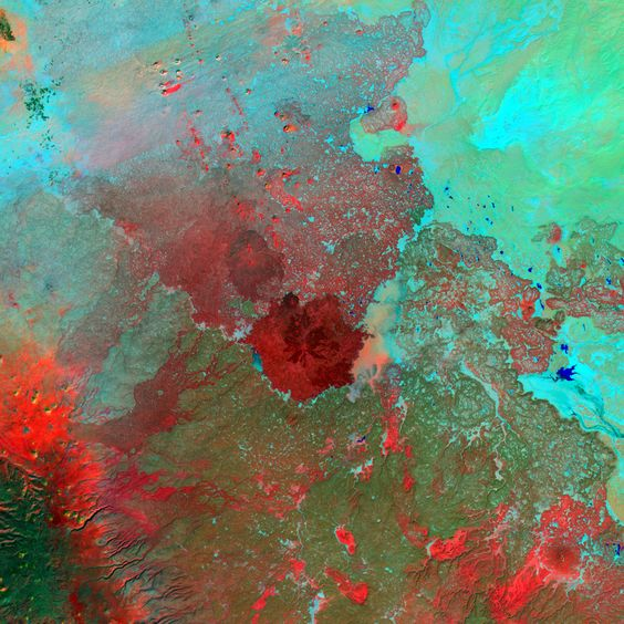 The Syrian Desert - Landsat - Cargo example design