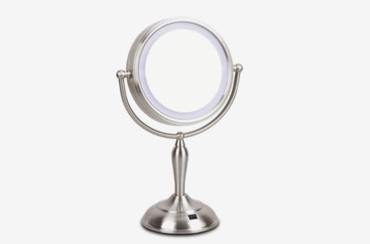 Mirrormore Lighted Vanity Mirror With 1x 10x Magnifying 7 5 Inch