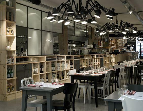 small restaurant design photos | Kitchen: Stunning Restaurant Kitchen Design Ideas , Mazzo Restaurant ...