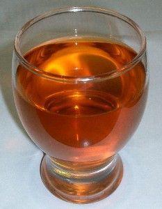 aufgebrühter Rooibos Tee