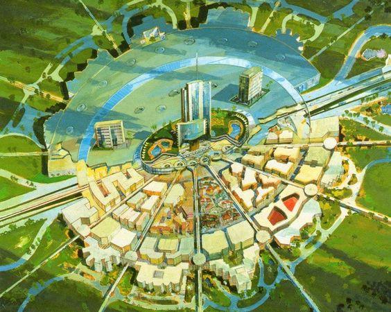 Walt Disney's Model City Epcot