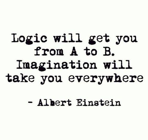 #Imagination will take you everywhere - Albert Einstein #quote