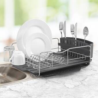 Stainless Steel Countertop Dish Rack Dish Rack Drying Dish Racks Dish Drainers