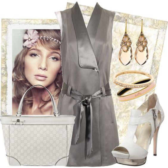"""Alexander Wang dress, Gucci bag"" by fashionmonkey1 on Polyvore"
