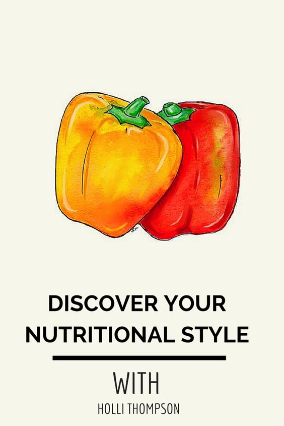 Discover your nutritional style with Holli Thompson