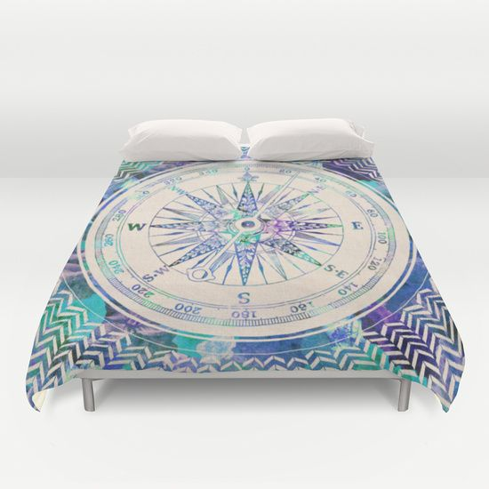 Buy ultra soft microfiber Duvet Covers featuring Follow Your Own Path by Bianca Green. Hand sewn and meticulously crafted, these lightweight Duvet Cover vividly feature your favorite designs with a soft white reverse side.