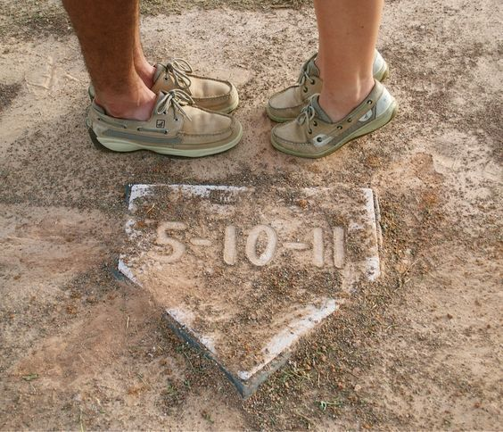 Baseball themed couple pictures by me, Phuong Ho