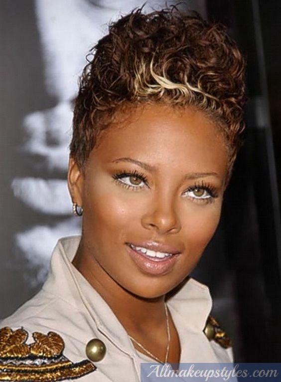 Cool Black Women Brown Shades And Short Hairstyles On Pinterest Short Hairstyles Gunalazisus