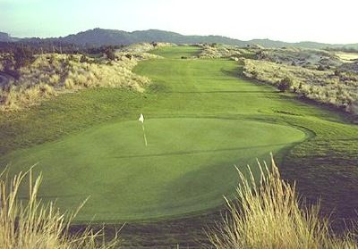 Built on rolling sand dunes, the Ocean Dunes Golf Links (OR) is an affordable 18-hole course.