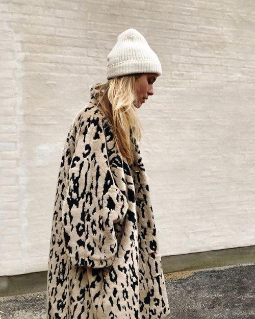 How To Boho: NEW BOHEMIAN INSPIRATION for Fall/Winter 2018 Animal Print Oversized Coat #bohostyle #bohochic #bohofashion