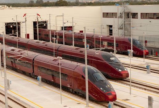 El Ferrari de los trenes