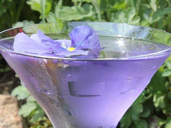 Petal Pusher: 4 oz. tequila, 4 oz. pear nectar, 4 oz. Rose petal liqueur (Lanique), and 1 lime juice
