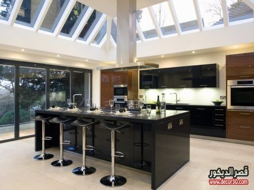صور تصميم مطابخ افكار لاستغلال مساحات المطبخ بذكاء قصر الديكور Luxury Kitchen Design Interior Design Kitchen Kitchen Design Small