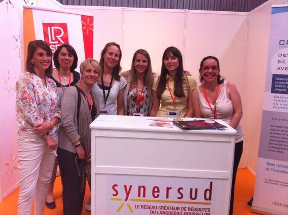 SYNERSUD, LRSet et Via Innova étaient au salon CONNEC'SUD   Girl Power !!!!!