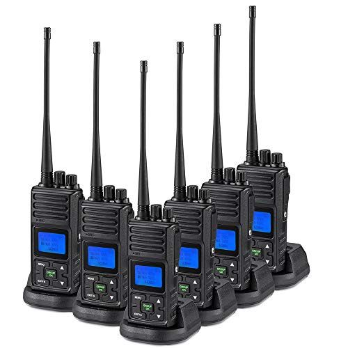 Retevis RT21 Walkie Talkies Rechargeable 16 Channels FRS License-Free 2 Way Radios 4 Pack