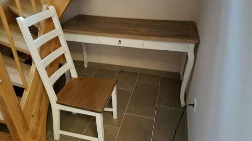 Schreibtisch mit Stuhl im Vintage-Look in Nordrhein-Westfalen - Wegberg   Büromöbel gebraucht kaufen   eBay Kleinanzeigen