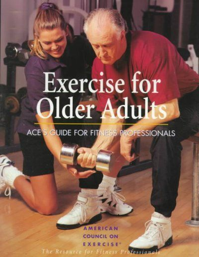 ace adult exercise fitness guide older professional