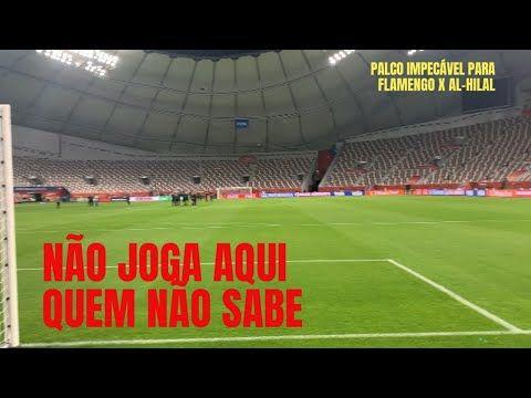 Gramado Impecavel Estadio De Primeira Flamengo Nao Tem Desculpas Para Nao Jogar Bem No Catar Veja Youtube Estadio Flamengo Para Flamengo