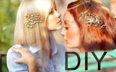 DIY Tutorial DIY Accessories / diy vintage hair accessories tutorial…