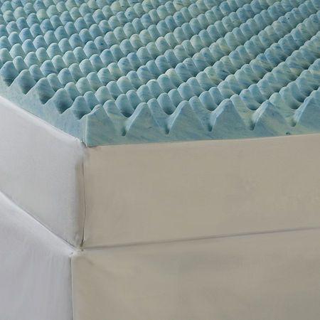 Memory Foam Mattress Topper Twin Panosundaki Pin