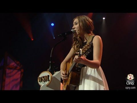 """Lennon and Maisy Stella - """"Ho Hey"""" (by The Lumineers) Live at the Grand Ole Opry - YouTube"""
