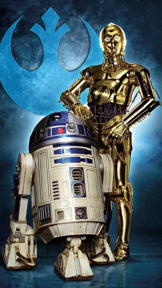 R2d2 And C3po C3po R2d2 Star Wars Canvas Art Star Wars Wallpaper Star Wars Poster