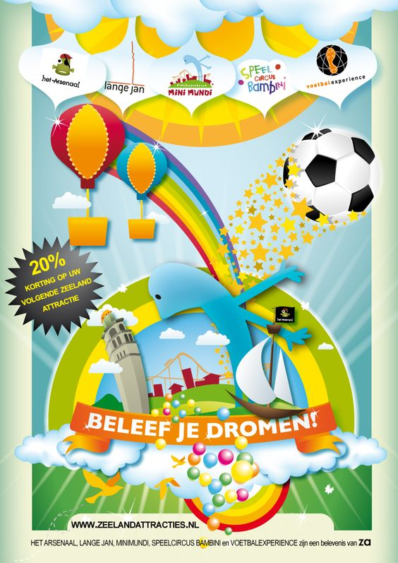ByMe Poster Design and Illustrations for Amusement park