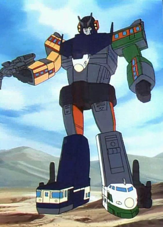 """Transformers G1 (""""The Headmasers"""") Raiden (from """"Mystery of the Space Pirate Ship"""")"""