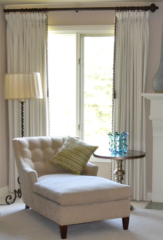 Master Bedroom Chaise In Front Of Bay Window Home D Cor Seating Pinterest Maybe