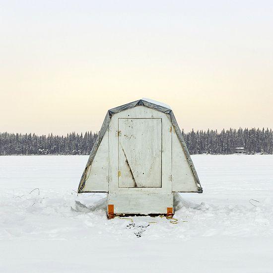 Ice Hut #476, Murray Point, Emma Lake, Saskatchewan, 2011: Ice Huts by Richard Johnson