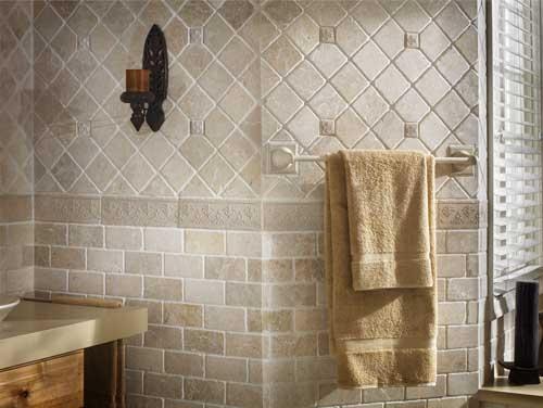Travertine subway 3x6 and 4x4 bathroom ideas pinterest for 4x4 bathroom ideas