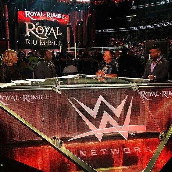 Royal Rumble 2016 Kickoff Panel.